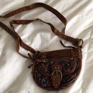 Handbags - Cross Body Floral Print Small Bag